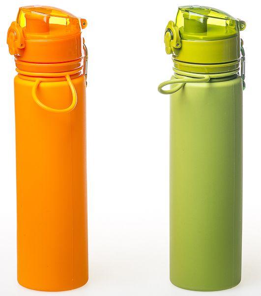 Бутылка силиконовая Tramp 0,7 л