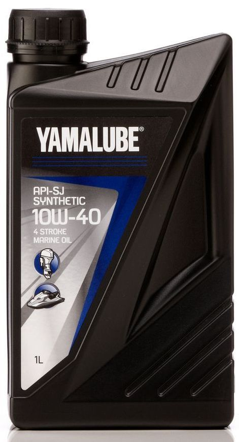 Масло моторное Yamalube 4-S API-SJ 10W-40 1 литр - фото 1