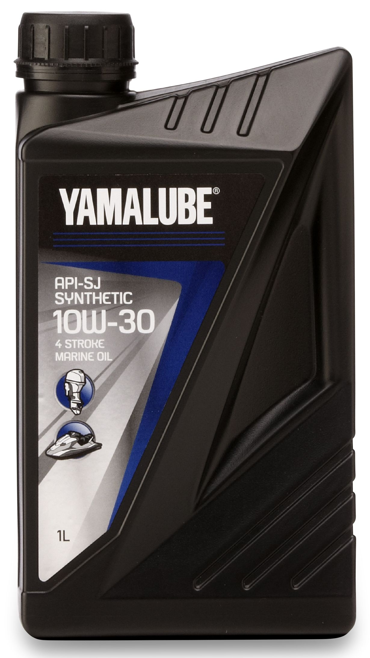Масло моторное Yamalube 4-S API-SJ 10W-30 1 литр - фото 1