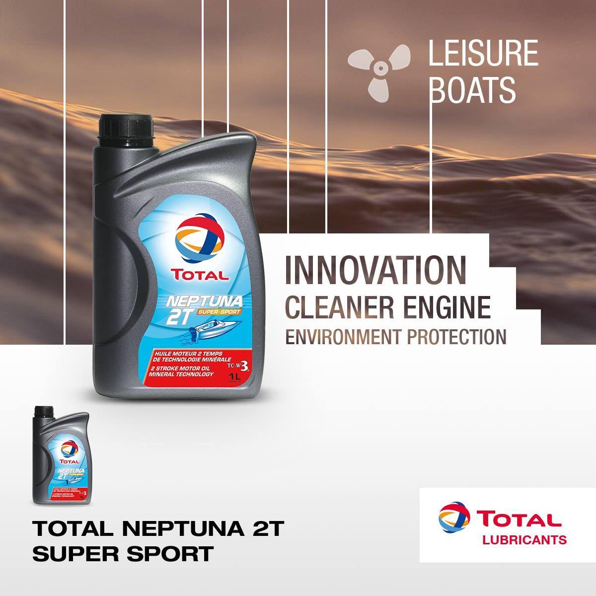 Масло моторное Total Neptuna 2T Supersport TC-W3 1 литр - фото 3