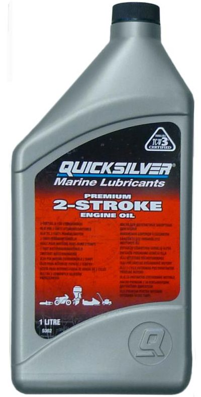 Масло моторное Quicksilver Premium TC-W3 1 литр