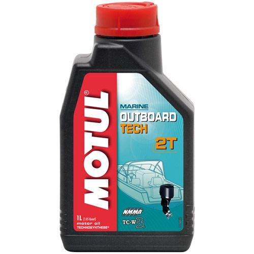 Масло моторное Motul Outboard Tech 2T TC-W3 1 литр