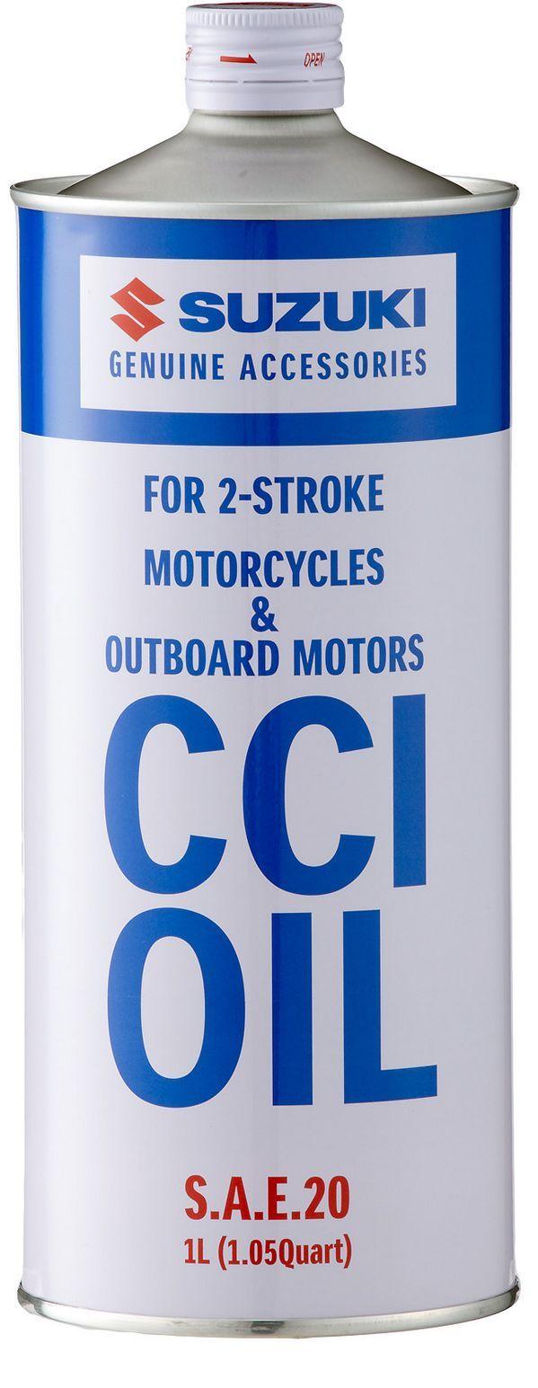 Масло моторное Suzuki 2-Stroke Motorcycles & Outboard Motors CCI OIL 1 литр - фото 1