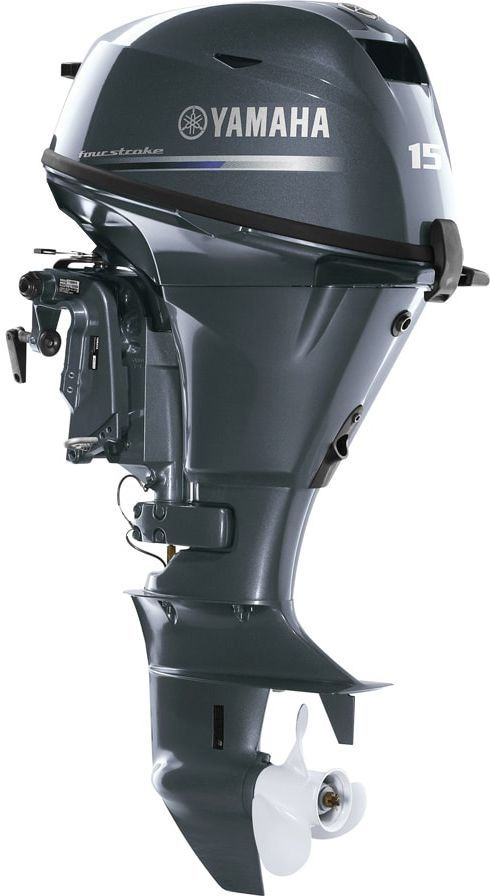 Лодочный мотор Yamaha F15CES - фото 1