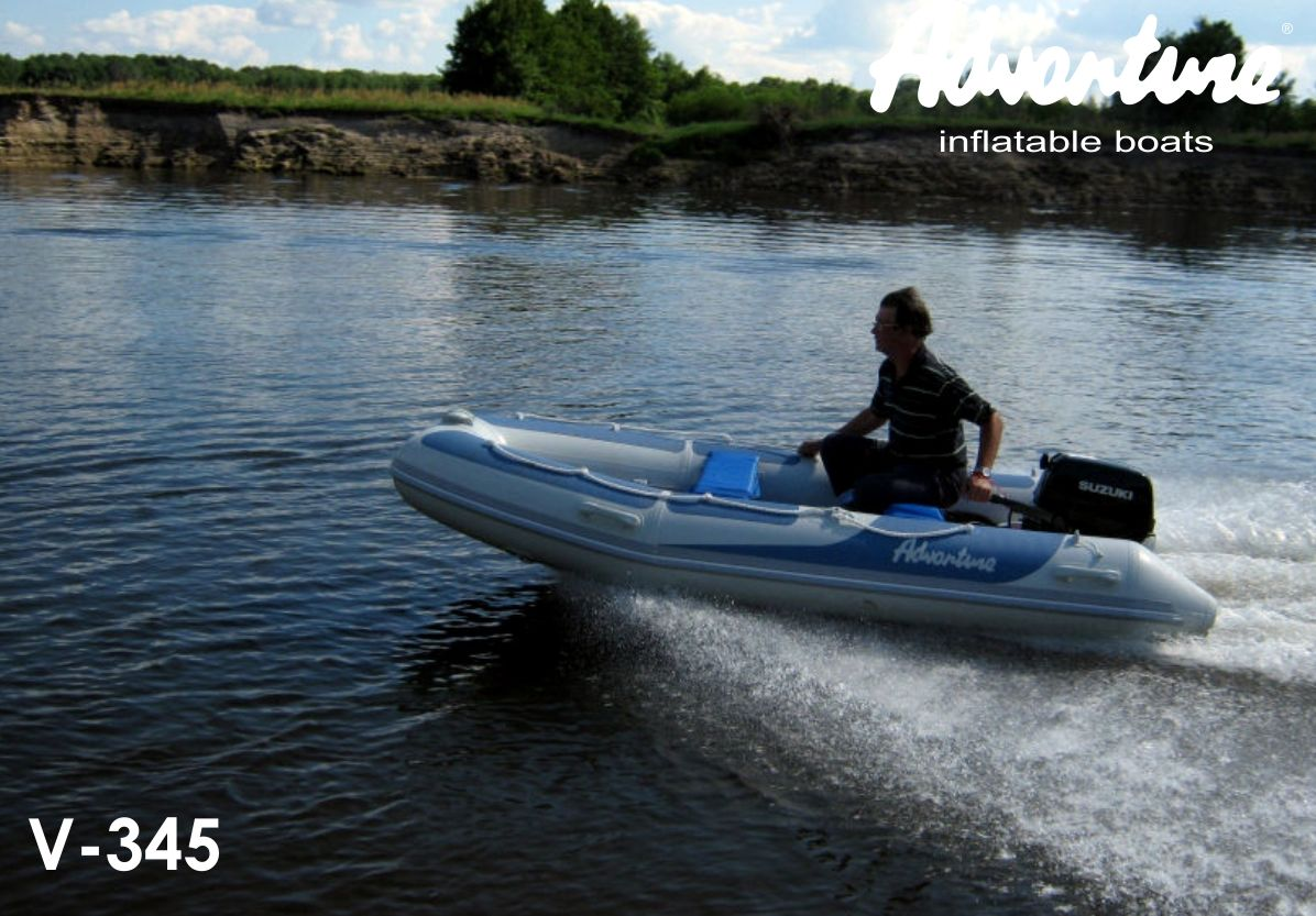 Надувная лодка Adventure Vesta V-345 RIB - фото 1