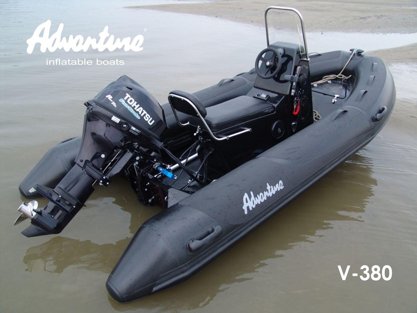 Надувная лодка Adventure Vesta V-380 RIB - фото 1