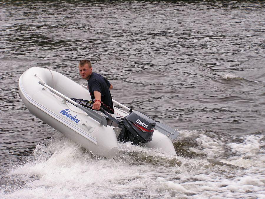 Надувная лодка Adventure Vesta V-250 RIB - фото 1