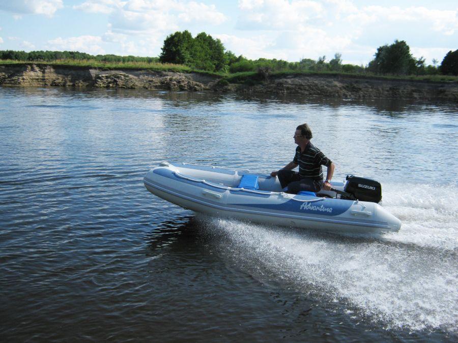 Надувная лодка Adventure Vesta V-345 RIB