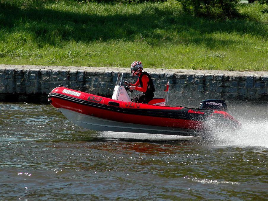 Надувная лодка Adventure Vesta V-450 RIB