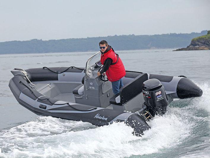 Надувная лодка Adventure Vesta V-550 RIB
