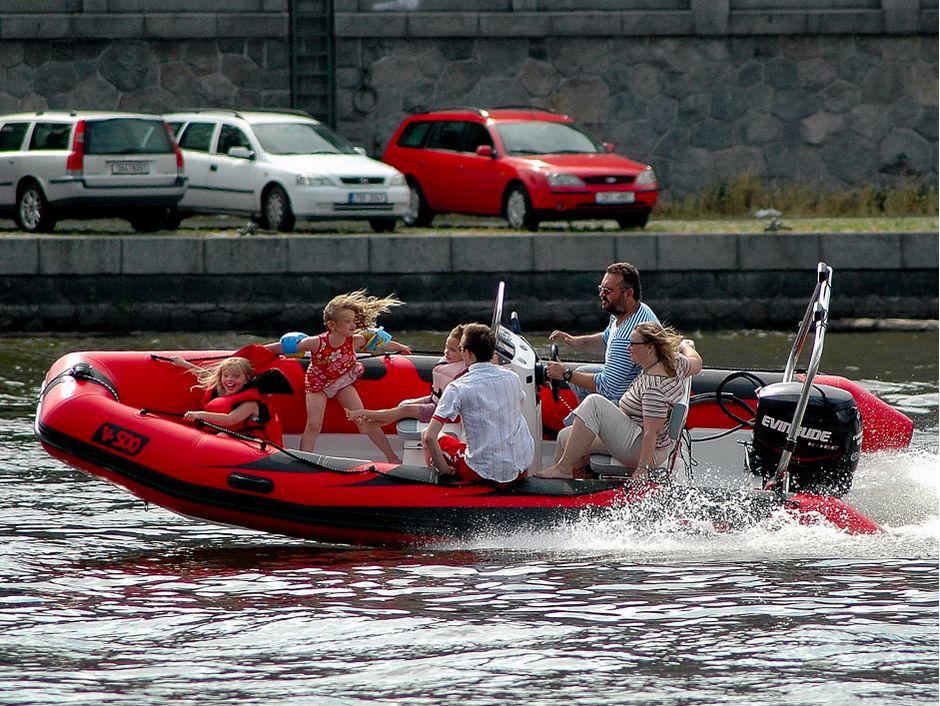Надувная лодка Adventure Vesta V-500 RIB