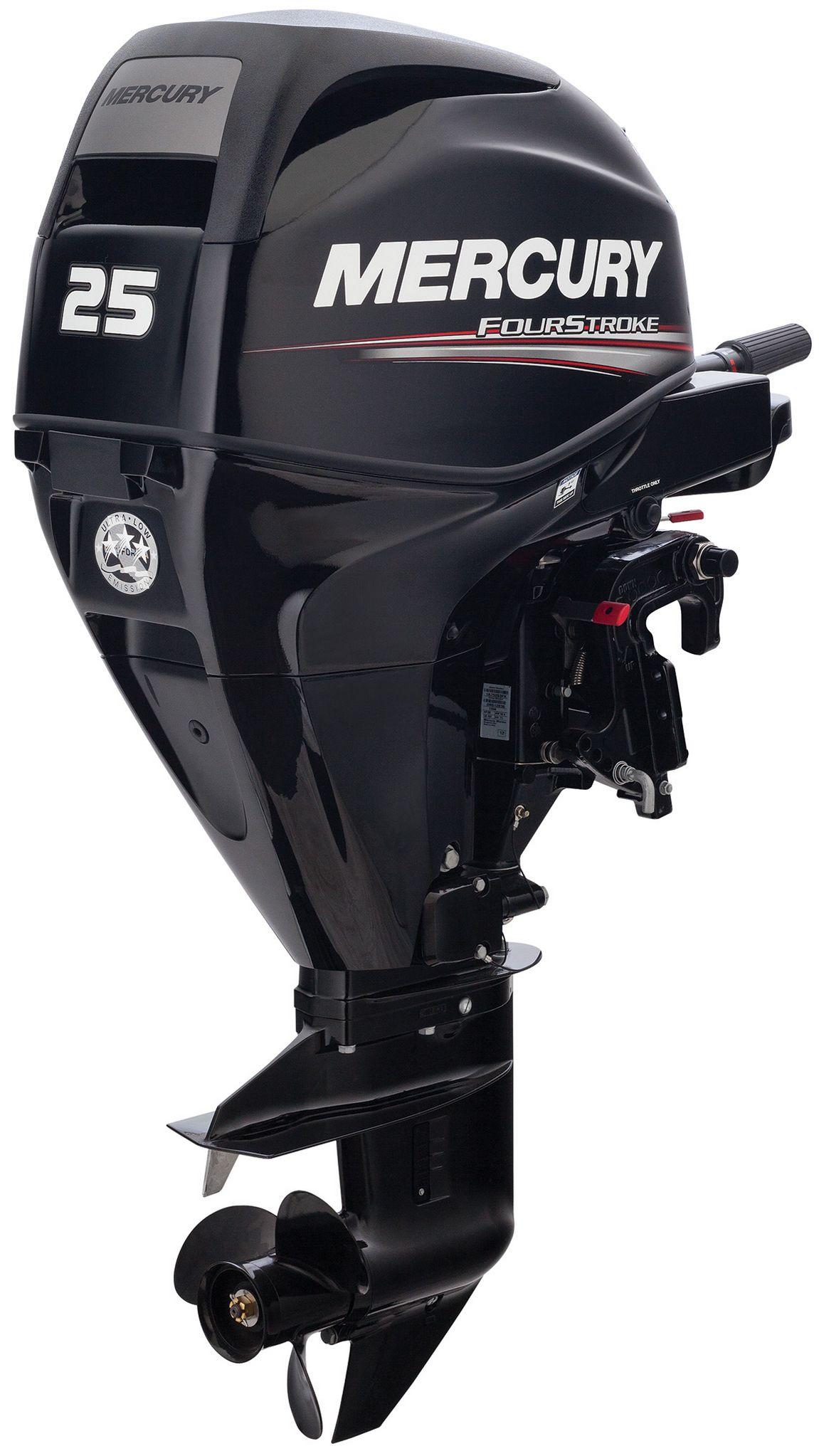 Лодочный мотор Mercury F25MH EFI - фото 3