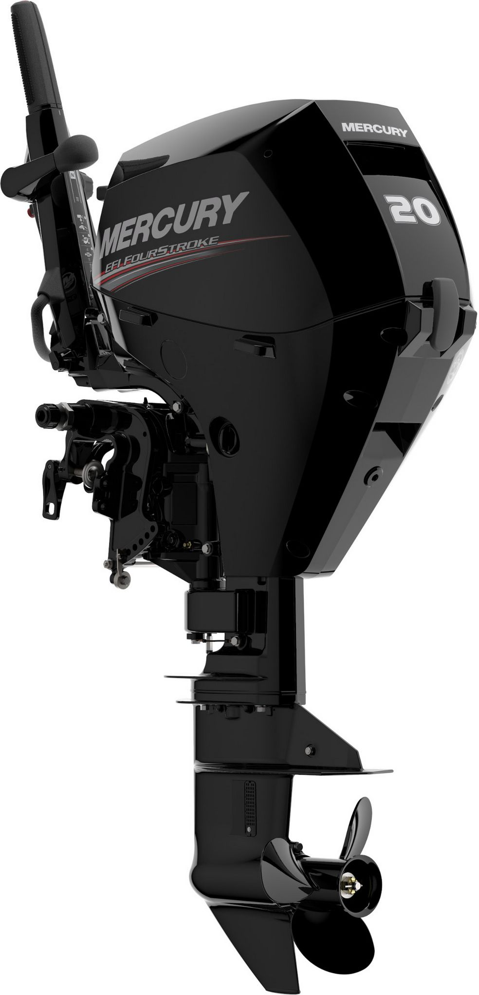 Лодочный мотор Mercury F20M - фото 1