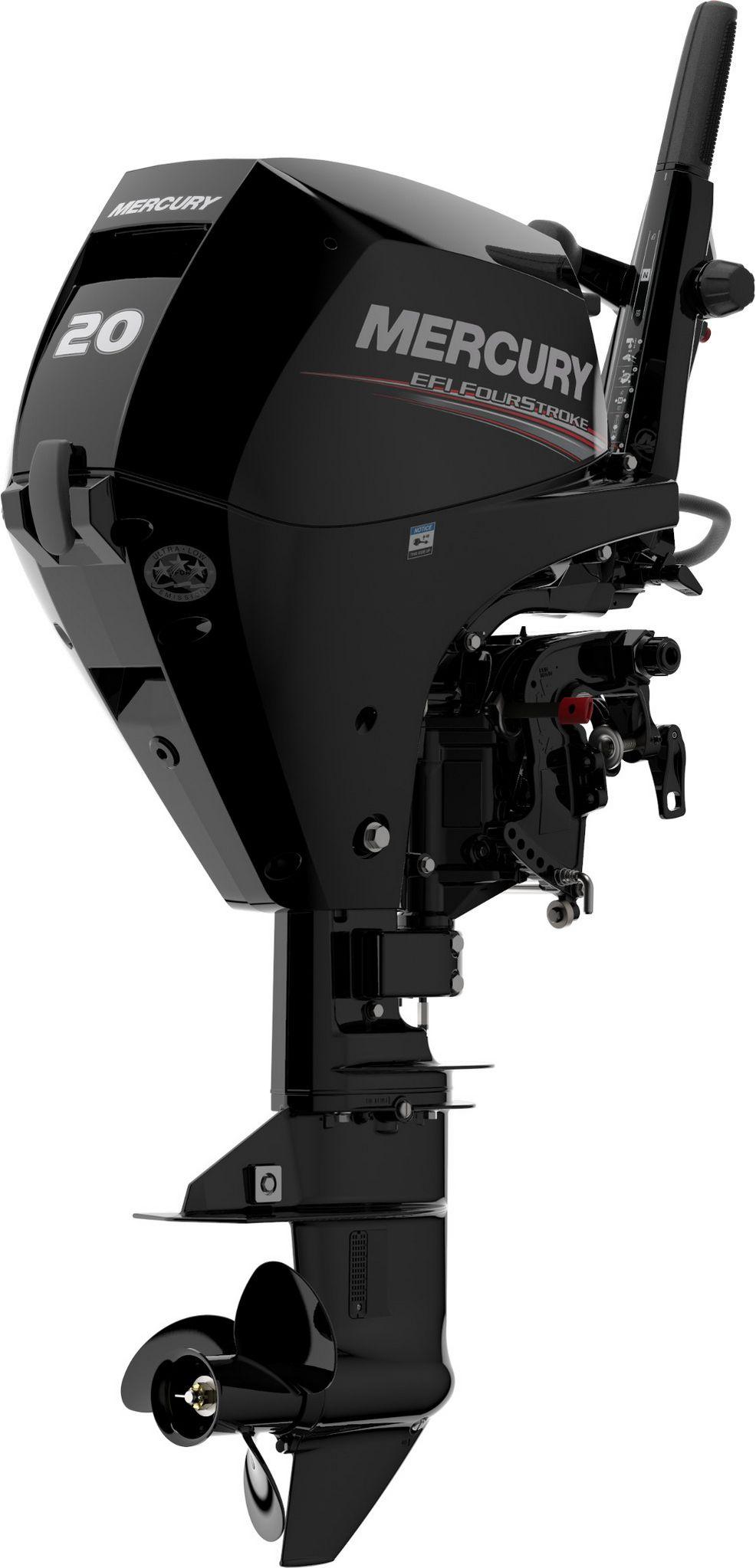 Лодочный мотор Mercury F20M - фото 3