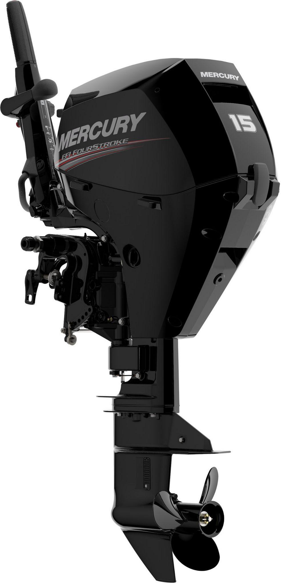 Лодочный мотор Mercury F15MH - фото 1