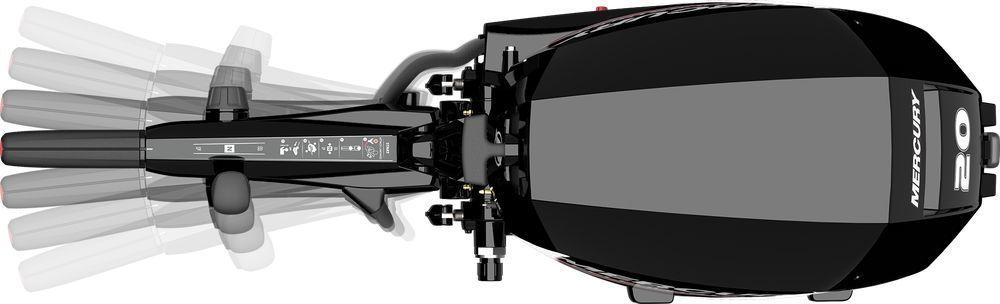 Лодочный мотор Mercury F20M - фото 7