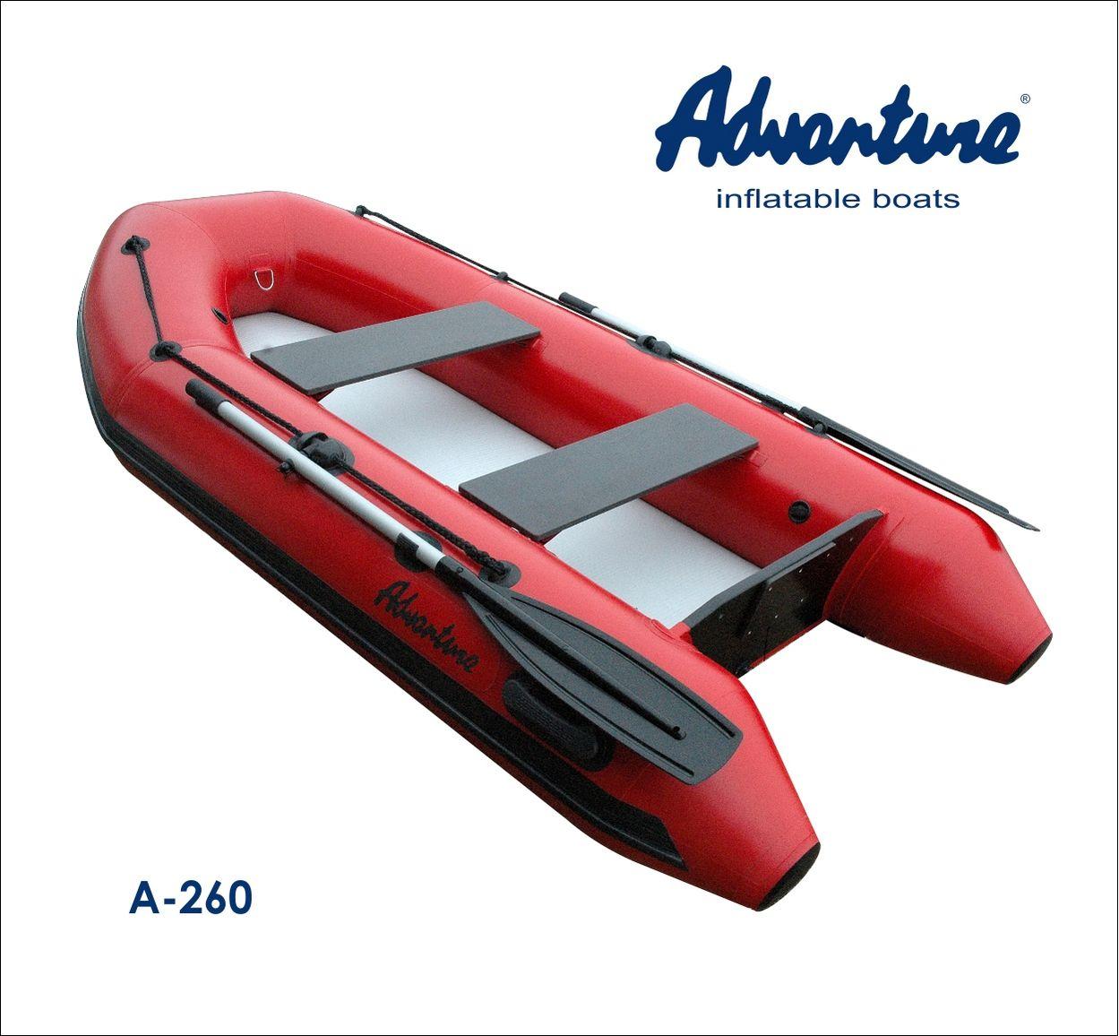Надувная лодка Adventure Arta A-260 - фото 1