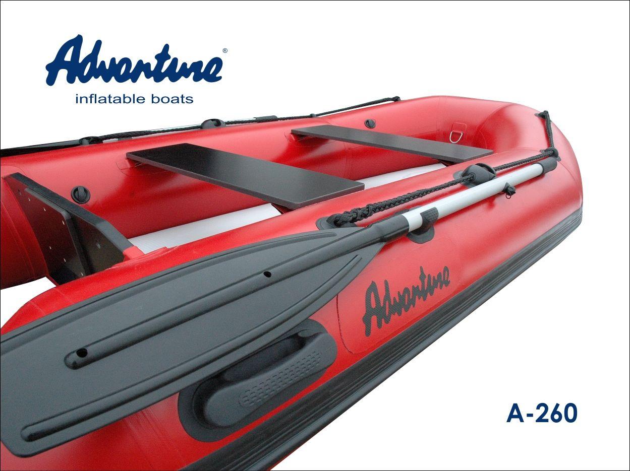 Надувная лодка Adventure Arta A-260 - фото 2