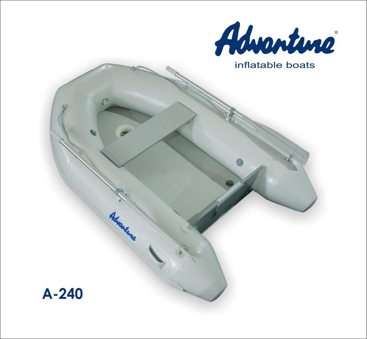 Надувная лодка Adventure Arta A-240 - фото 1