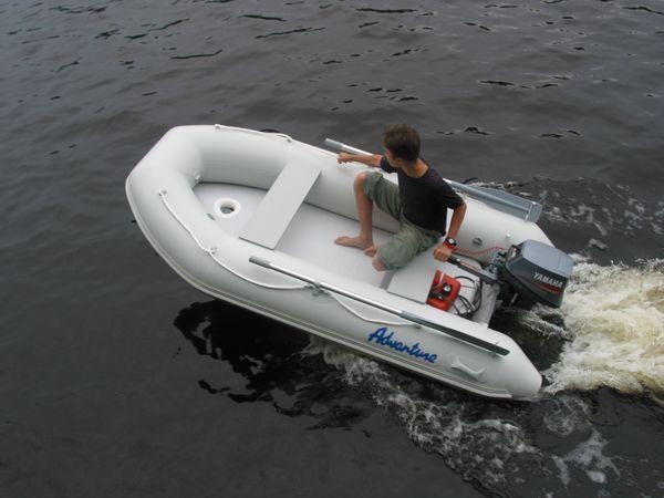Надувная лодка Adventure Arta A-260 - фото 15