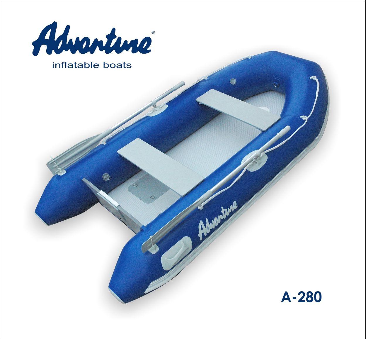 Надувная лодка Adventure Arta A-280 - фото 1