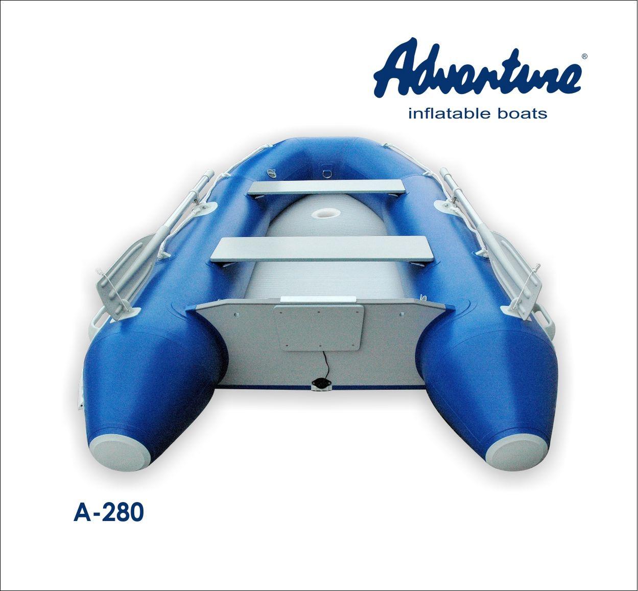 Надувная лодка Adventure Arta A-280 - фото 3