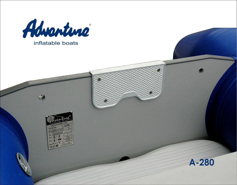 Надувная лодка Adventure Arta A-280 - фото 4