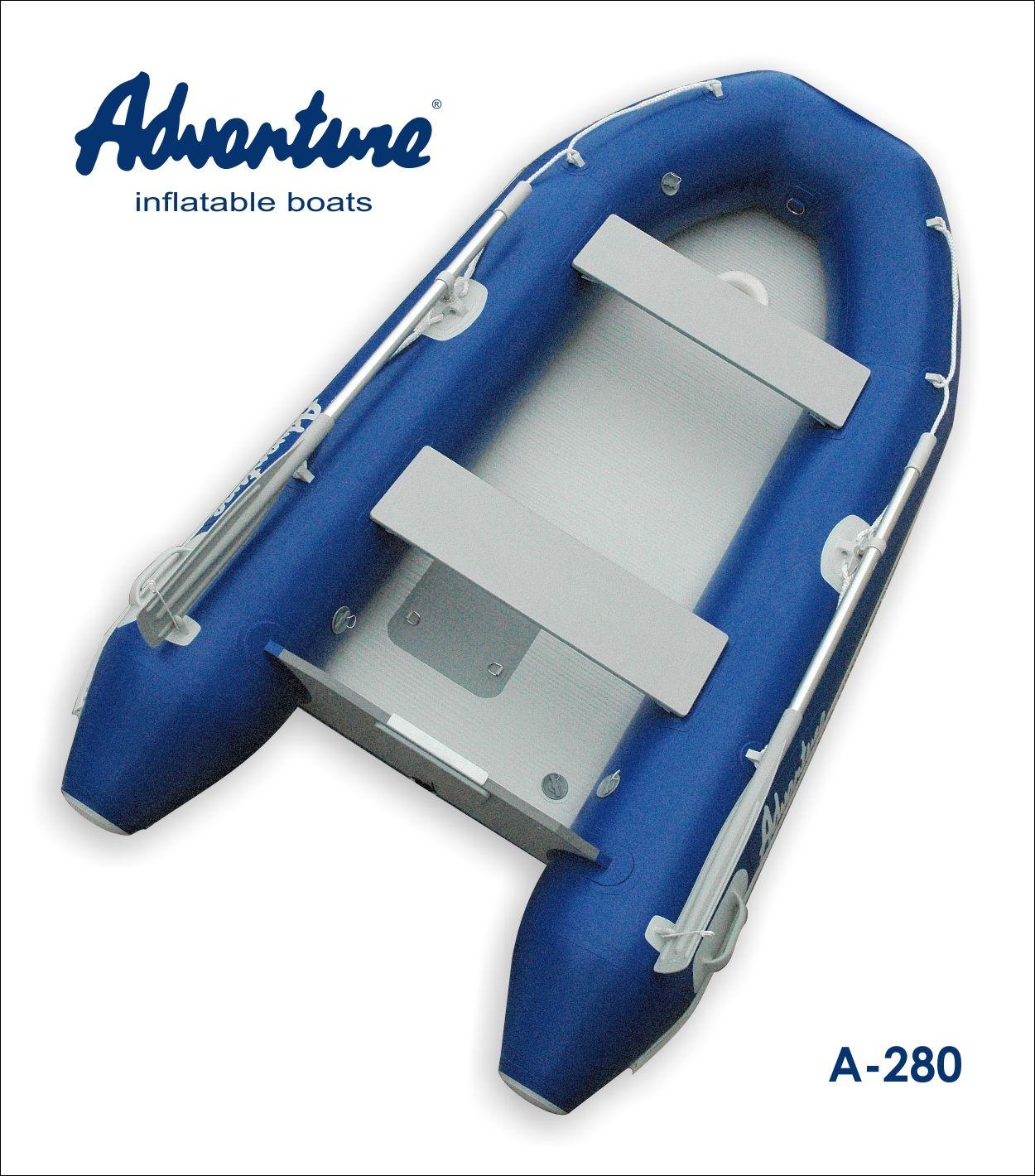 Надувная лодка Adventure Arta A-280 - фото 2