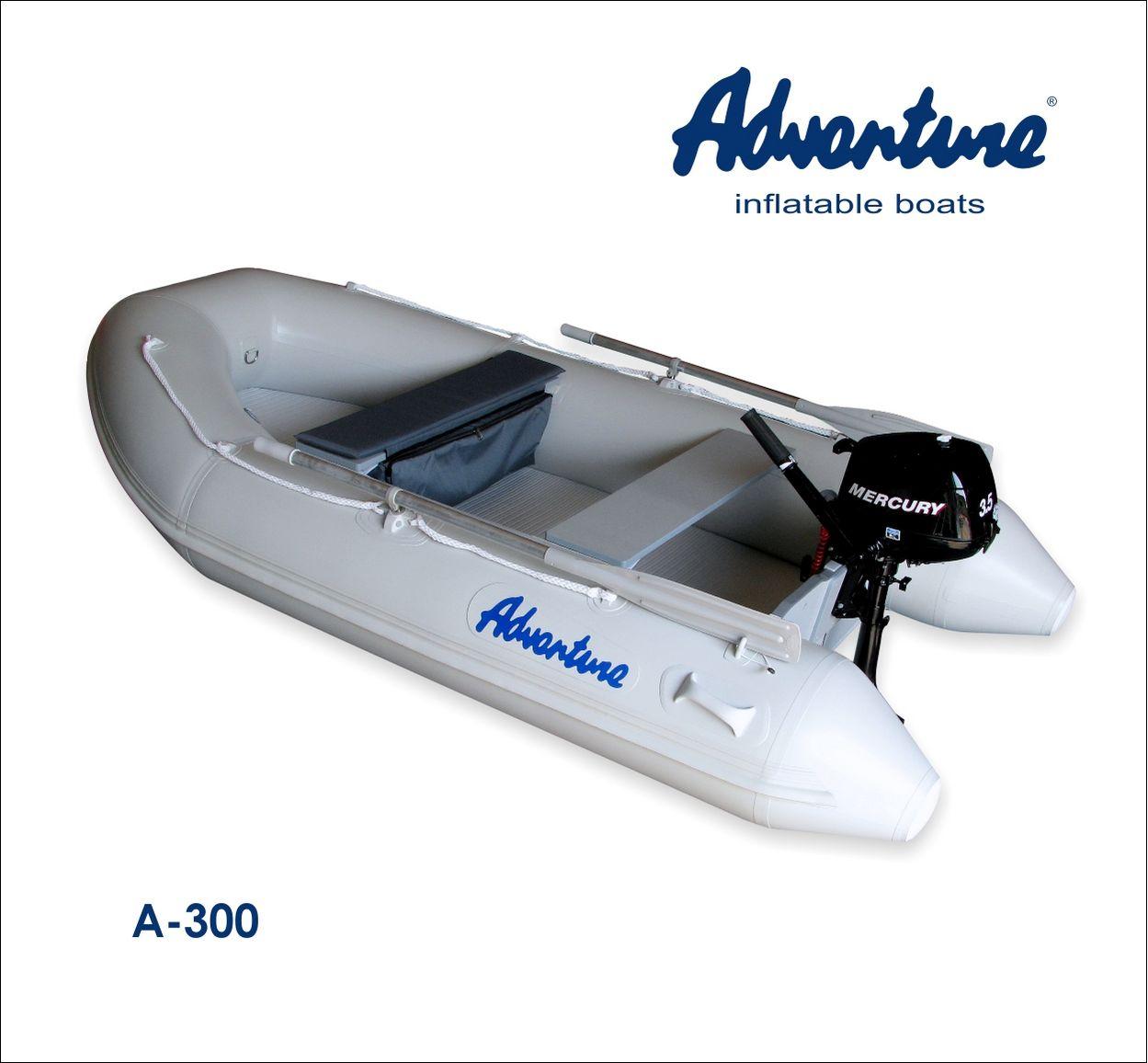 Надувная лодка Adventure Arta A-300 - фото 15