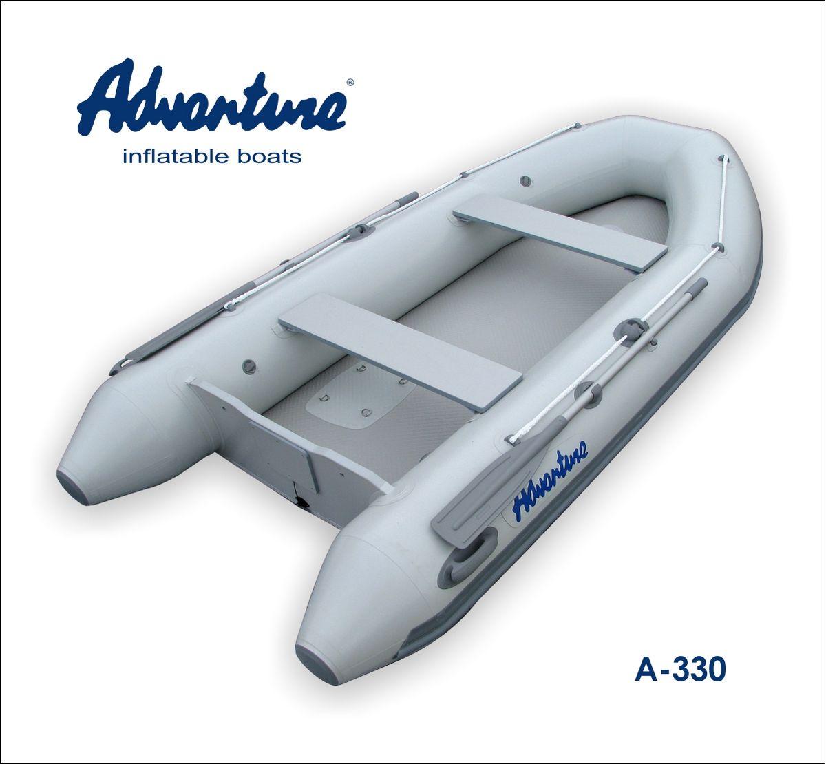 Надувная лодка Adventure Arta A-330 - фото 1