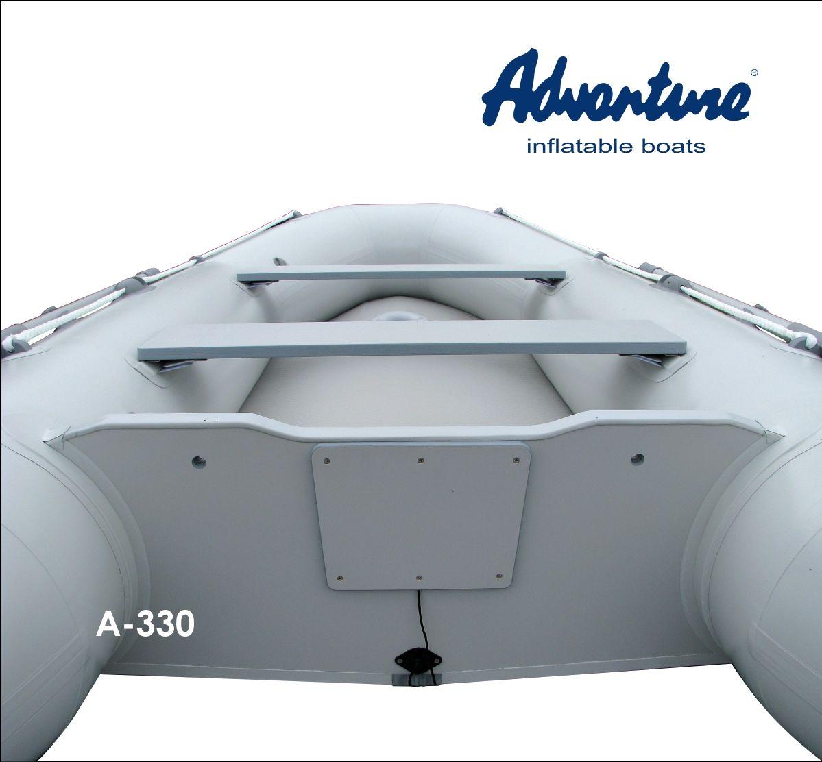 Надувная лодка Adventure Arta A-330 - фото 5
