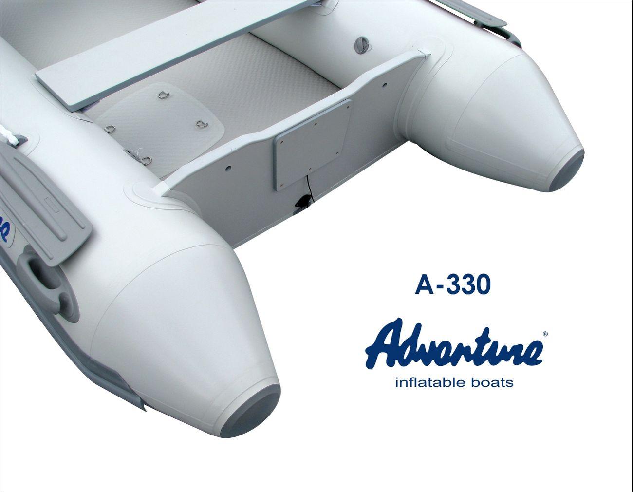 Надувная лодка Adventure Arta A-330 - фото 7