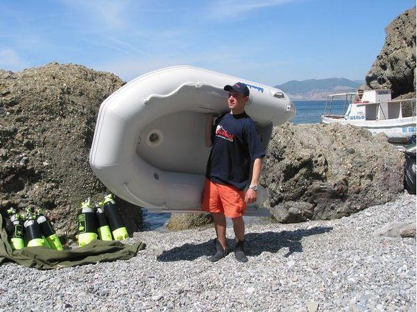 Надувная лодка Adventure Arta A-220 - фото 4