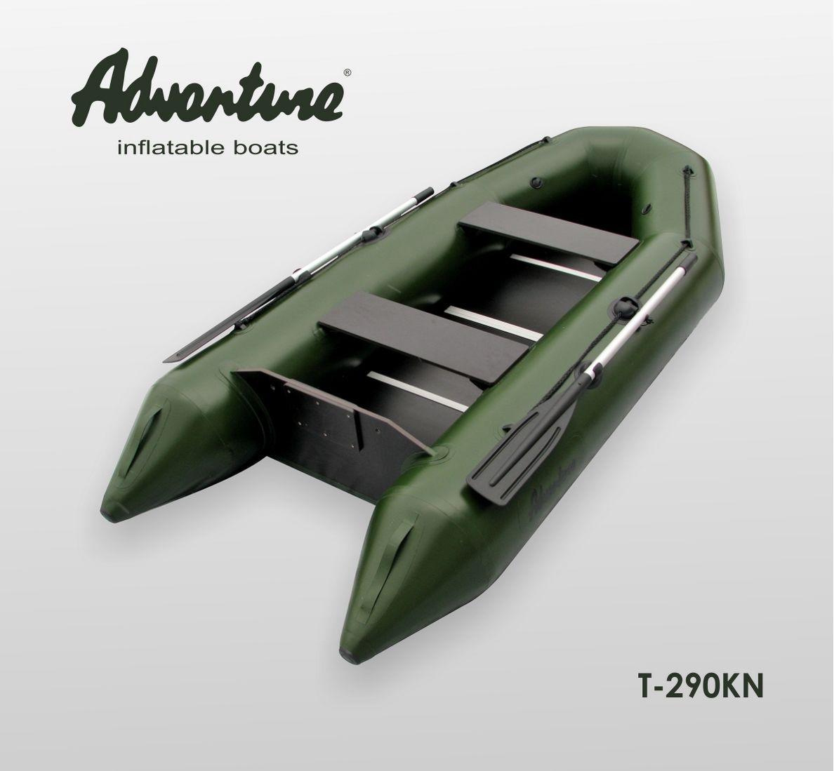 Надувная лодка Adventure T-290KN - фото 1