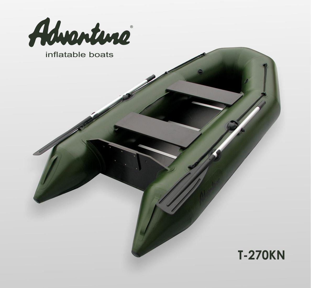 Надувная лодка Adventure T-270KN - фото 1