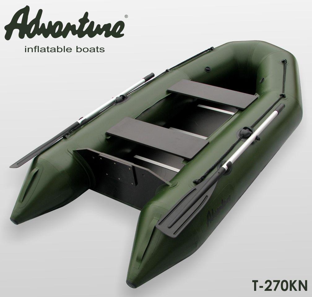 Надувная лодка Adventure T-270KN