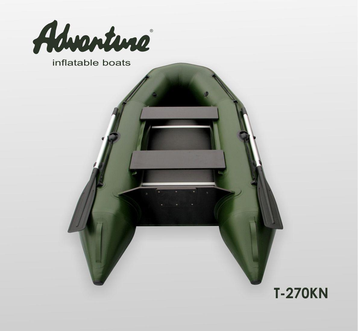 Надувная лодка Adventure T-270KN - фото 2