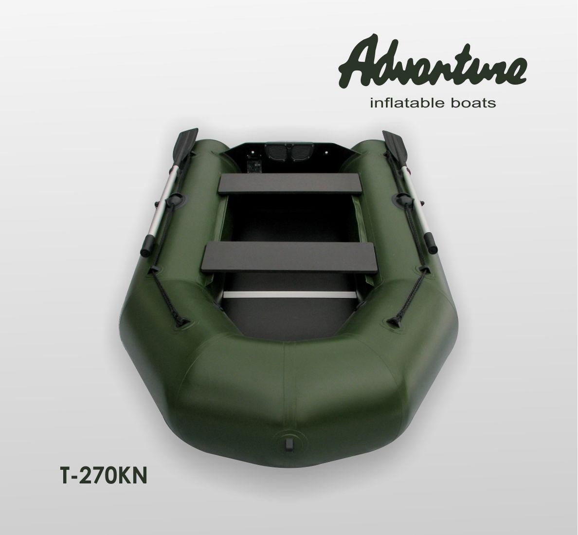 Надувная лодка Adventure T-270KN - фото 3