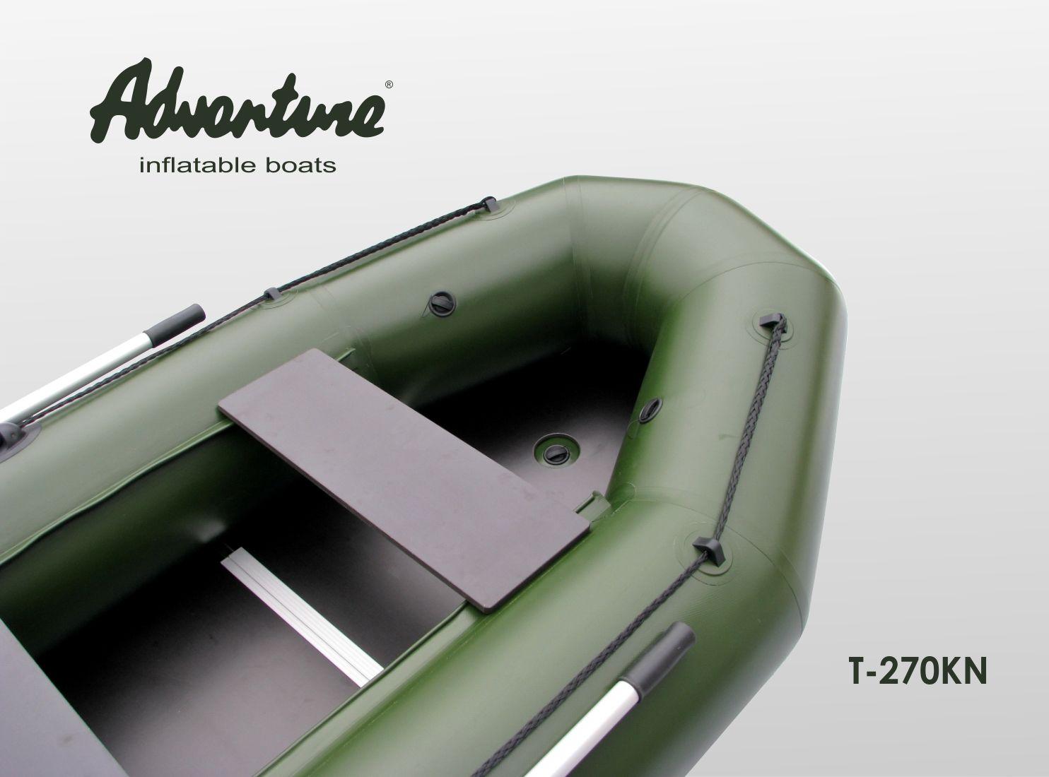 Надувная лодка Adventure T-270KN - фото 4