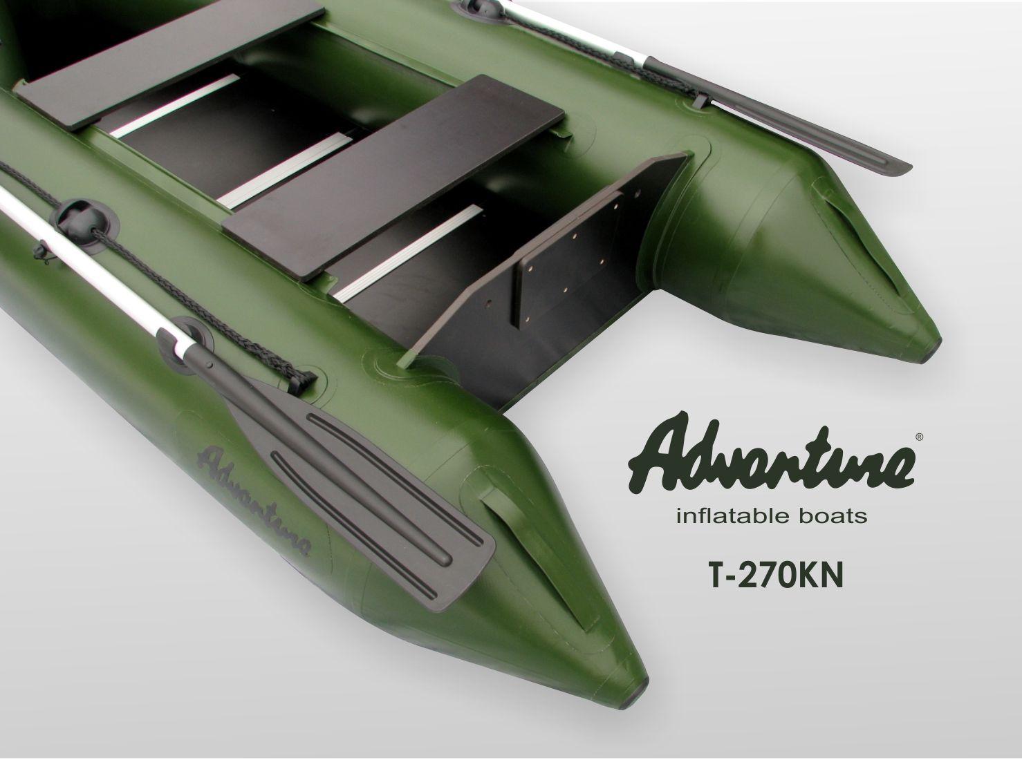 Надувная лодка Adventure T-270KN - фото 5