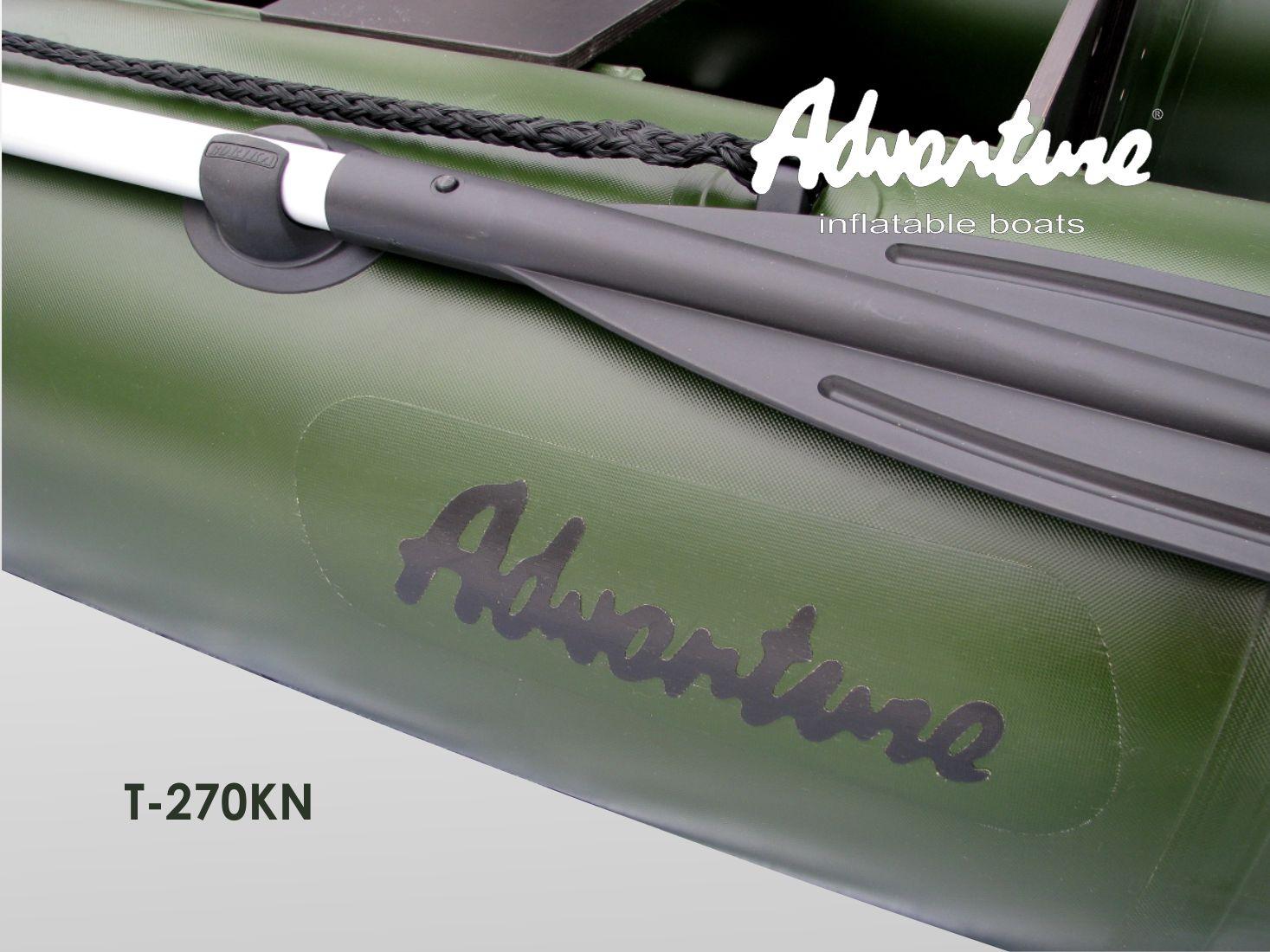 Надувная лодка Adventure T-270KN - фото 6