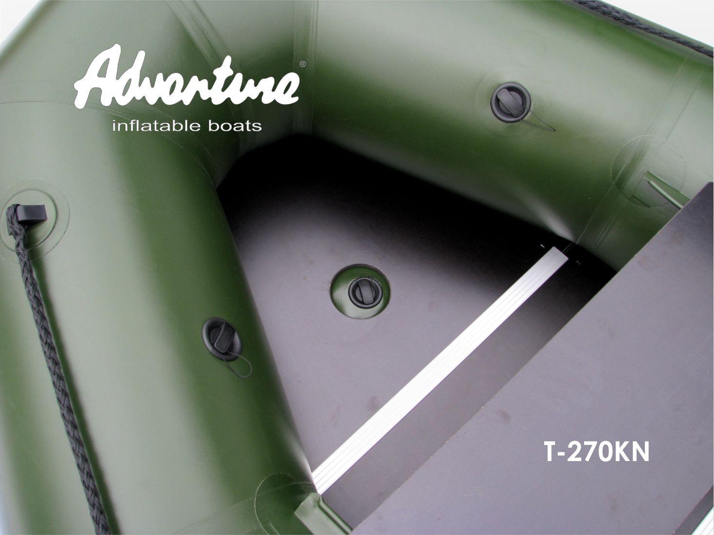 Надувная лодка Adventure T-270KN - фото 7