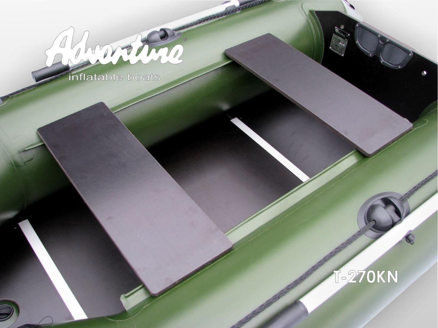 Надувная лодка Adventure T-270KN - фото 8