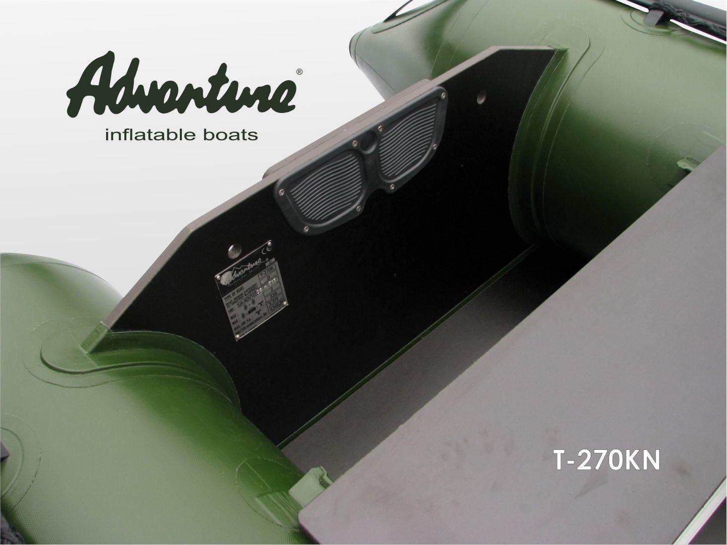 Надувная лодка Adventure T-270KN - фото 9
