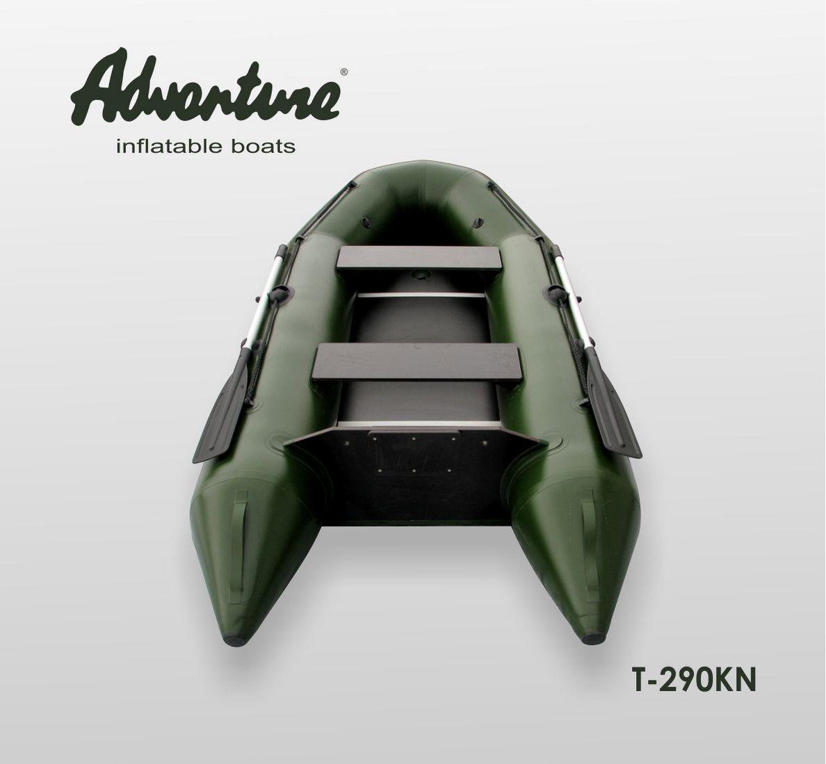 Надувная лодка Adventure T-290KN - фото 2