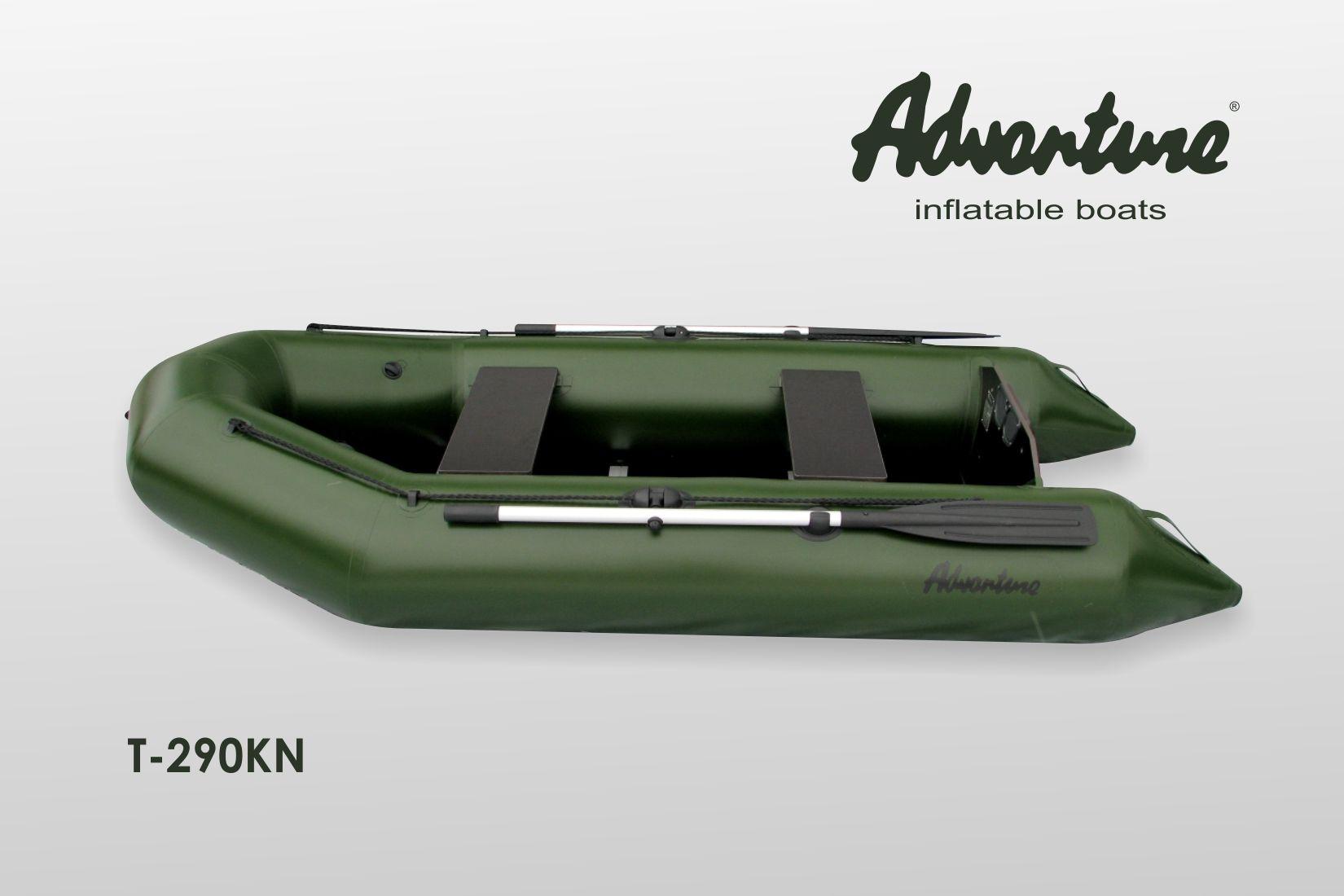 Надувная лодка Adventure T-290KN - фото 3