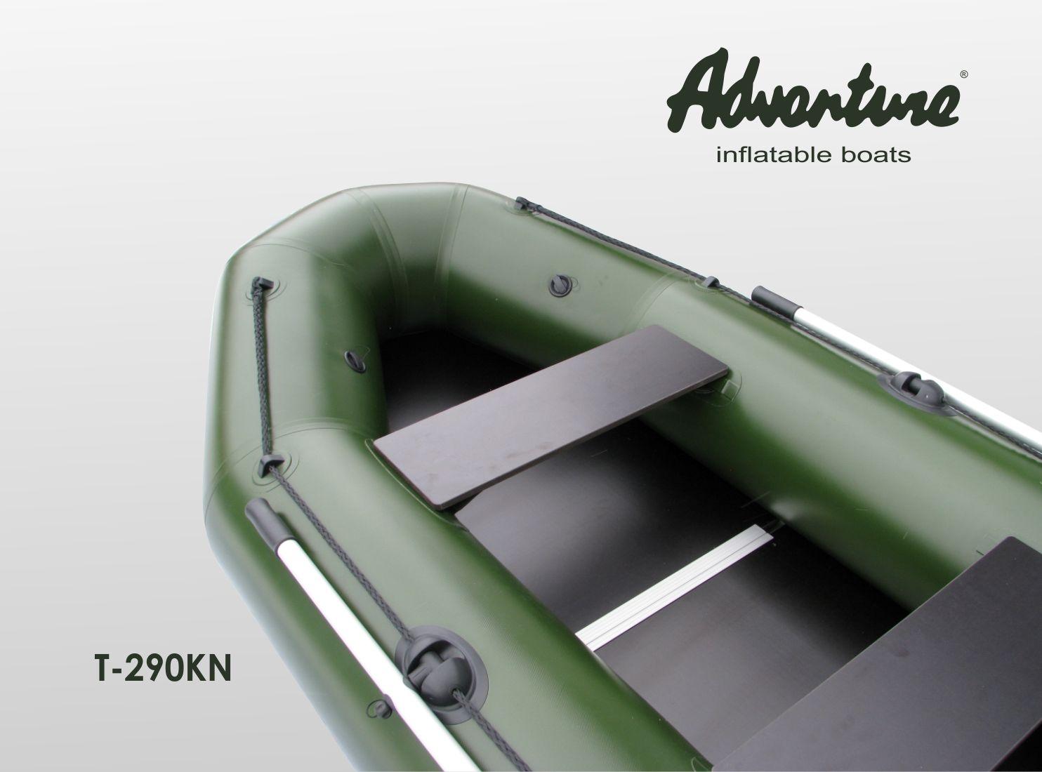 Надувная лодка Adventure T-290KN - фото 5