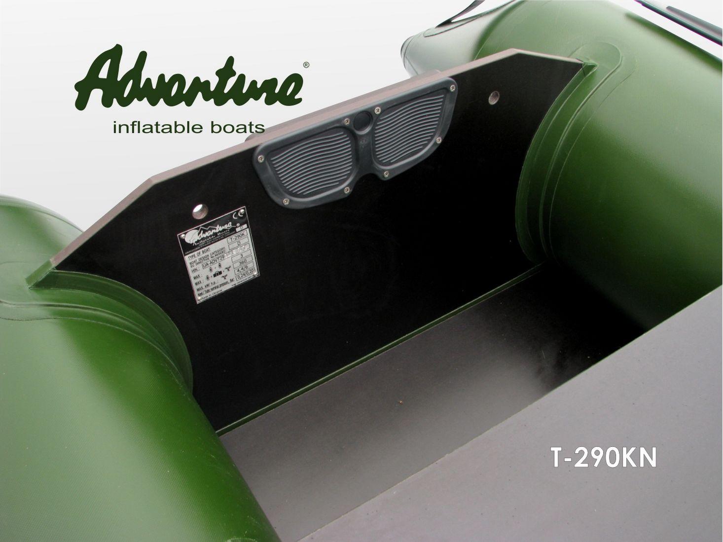Надувная лодка Adventure T-290KN - фото 7