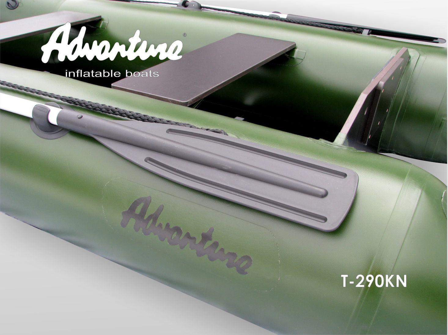 Надувная лодка Adventure T-290KN - фото 9
