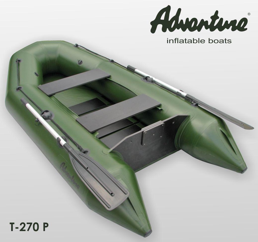 Надувная лодка Adventure T-270PN